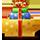 Леночка, в новом году желаю тебе процветания, чтобы все складывалось как тебе хочется и удача сопутствовала во всех начинаниях. А также желаю тебе чуть больше времени свободного и творческого вдохновения. Цем.))  (подарок от LadyDesire)